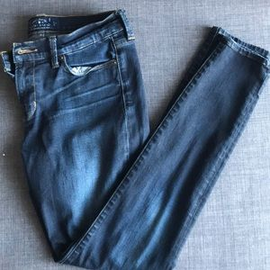 Lucky brand, Brooke Skinny jeans in a dark wash